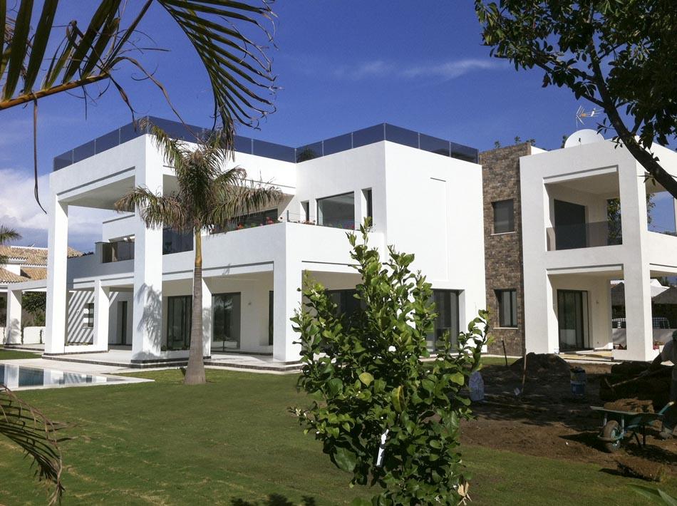 Villa moderna en guadalmina teodoro cabrilla - Estudios de arquitectura en marbella ...