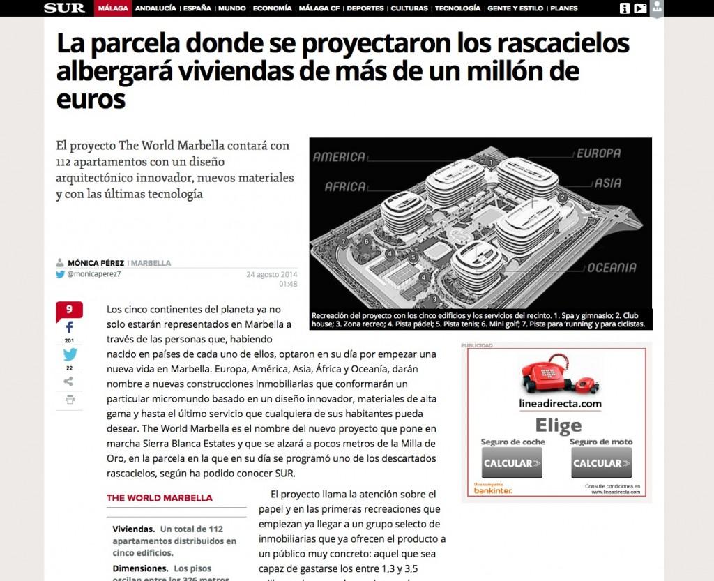 El proyecto rascacielos de Marbella da paso a The World Marbella  Copia